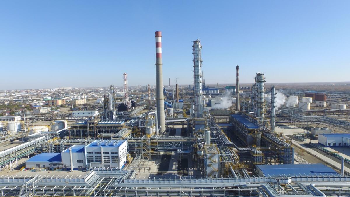 Ачинский Нефтеперерабатывающий Завод отремонтирован современным материалом РИЗОЛИН